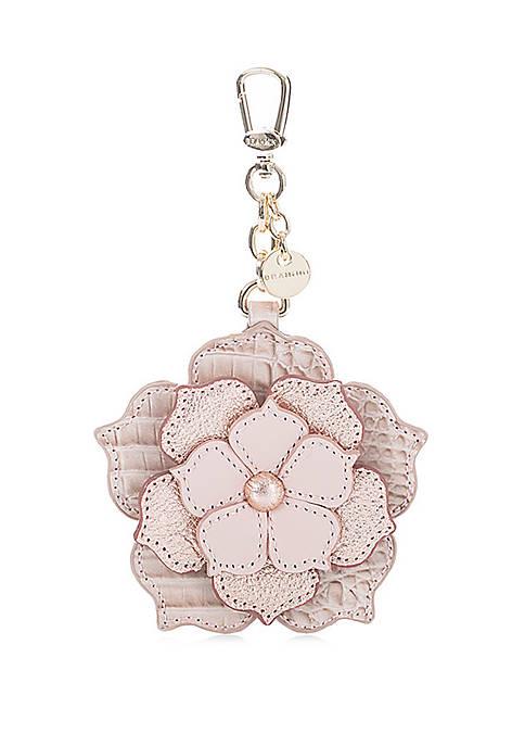 Brahmin Magnolia Rosewater Key Fob