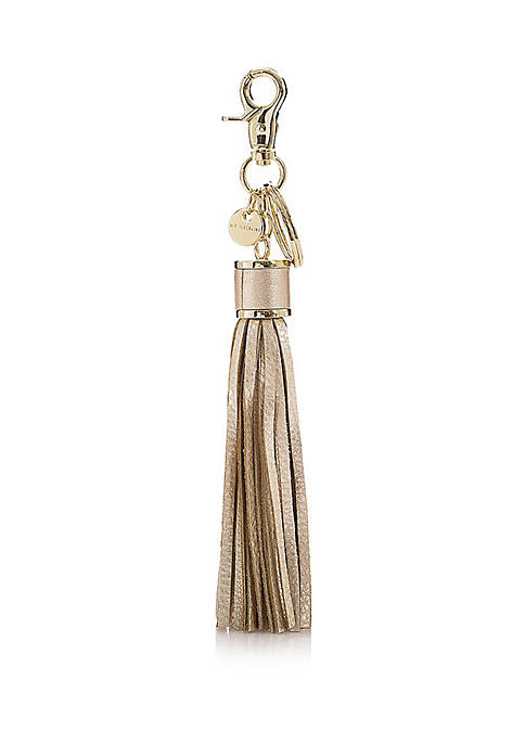 Large Moonlit Tassel Key Ring