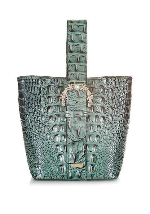 Brahmin Melbourne Luxe Faith Bucket Bag