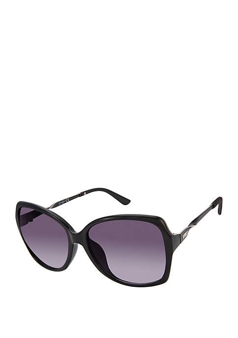 Jessica Simpson Square Twisted Sunglasses
