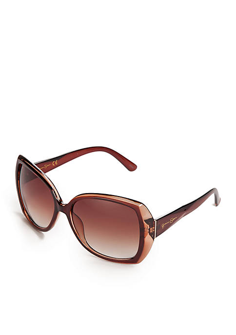 Oversized Glam Sunglasses