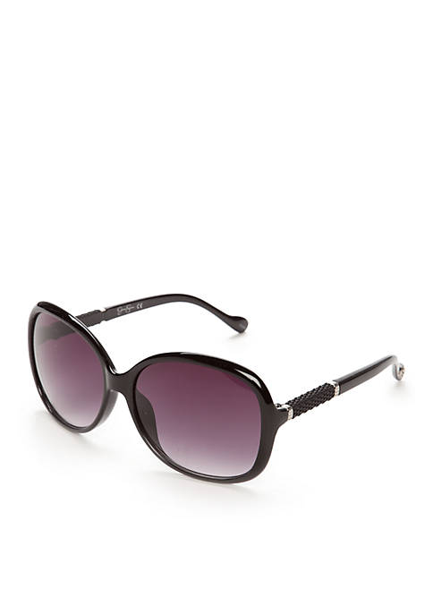 Jessica Simpson Large Quilted Sunglasses