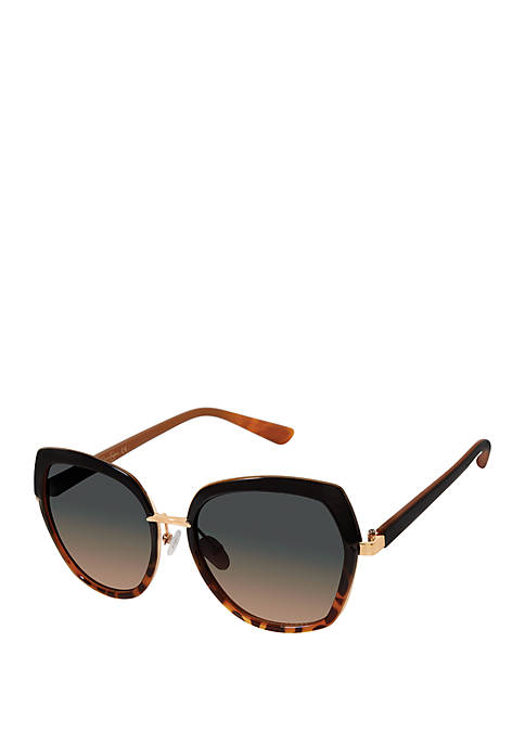 Ombre Rectangle Sunglasses