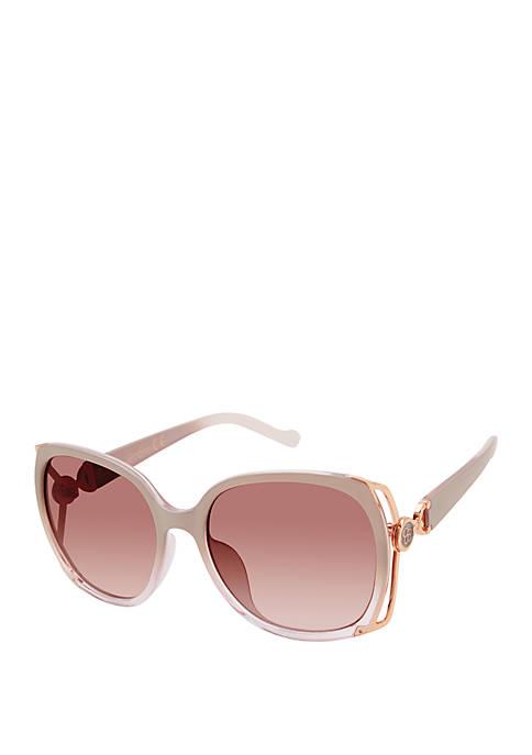 Jessica Simpson Square Vented Sunglasses