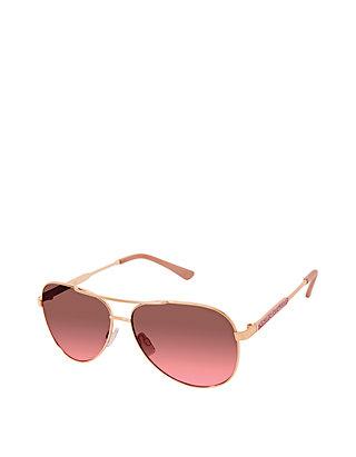 54b58bfc05 Jessica Simpson. Jessica Simpson Sparkly Metal Aviator Sunglasses