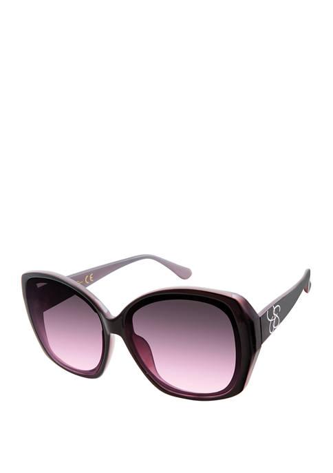 Oversize Square Glam Sunglasses