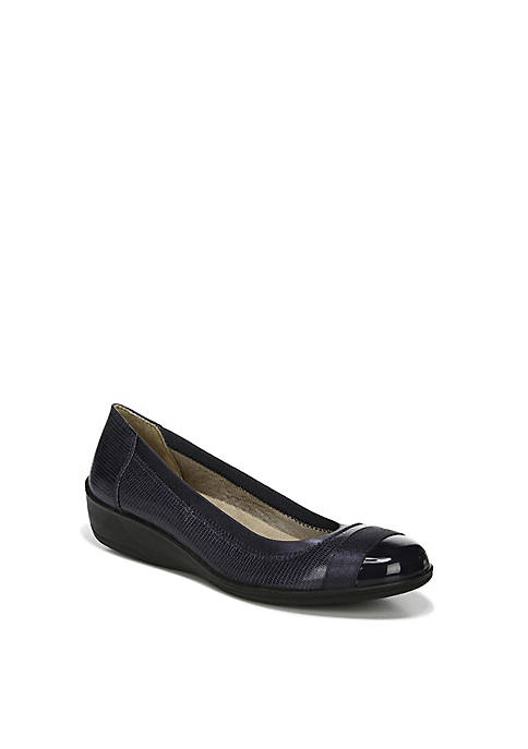 Indigo Flat Shoes