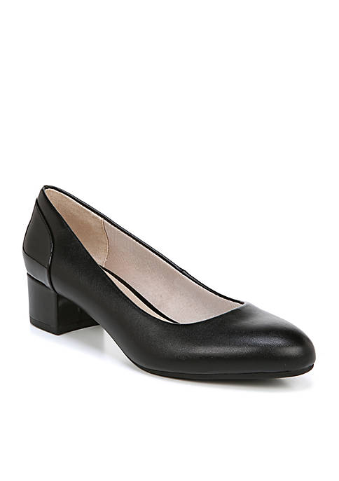 LifeStride Erica Block Heel Pump
