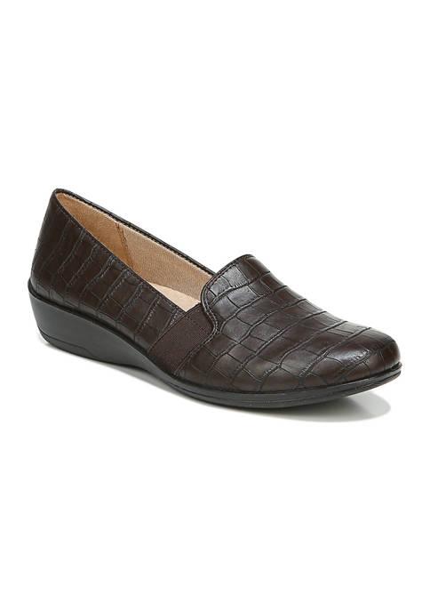 LifeStride Isabelle Slip-On Dark Shoes