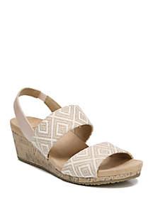 LifeStride Macela Wedge Sandals