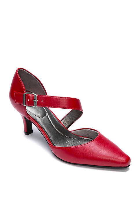 Kamala Ruby Red Heels