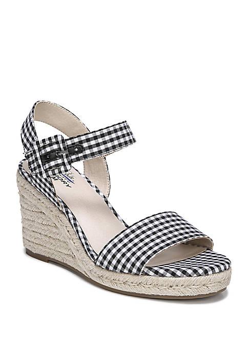 LifeStride Tango Ginham Sandals