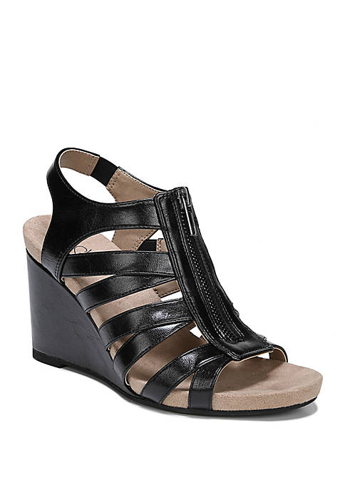 Hollie Wedge Sandals