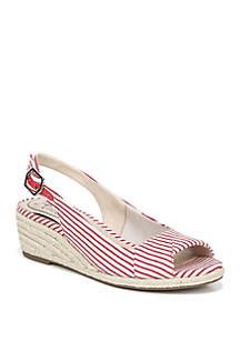 LifeStride Socialite Espadrille Wedge Sandals
