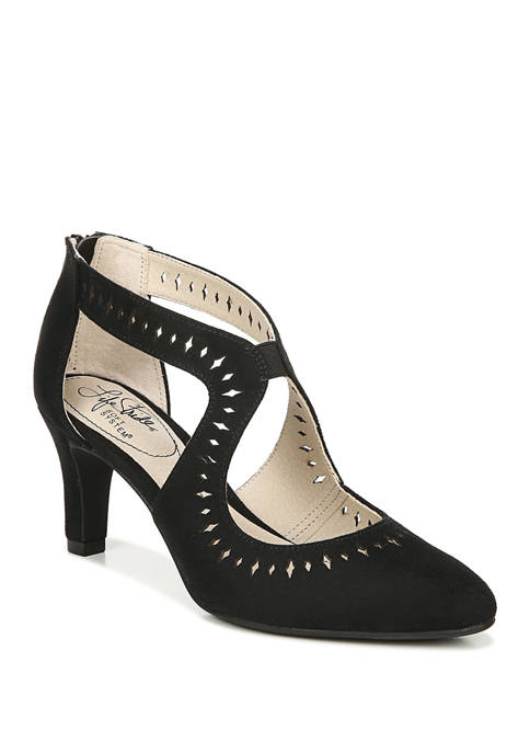 LifeStride Giovanna Perforated Pumps