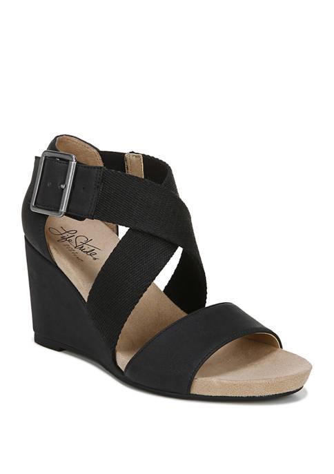 LifeStride Hayden T-Strap Sandals