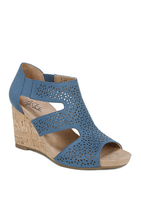 LifeStride Heidi T-Strap Sandals