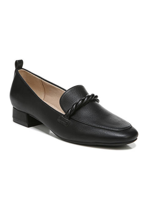 Confident Slip-On Maroon Loafers