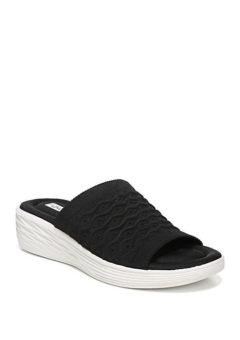Nanette Wedge Sport Slide Sandals