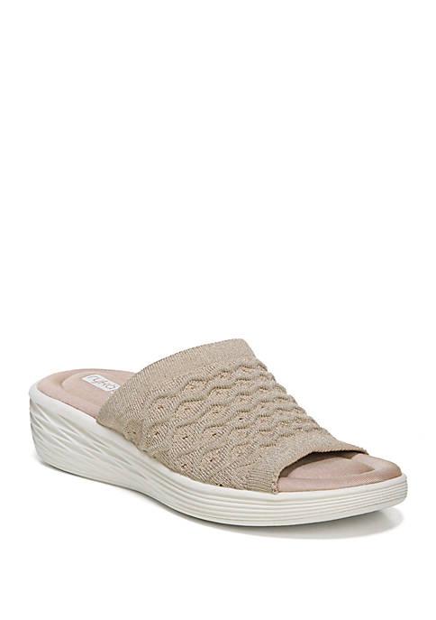 Ryka Nanette Wedge Sport Slide Sandals
