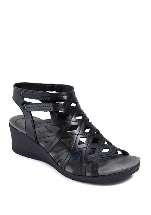 BareTraps Trella Black Sandals