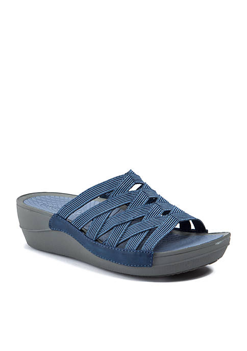 BareTraps Beverly Denim Sandal