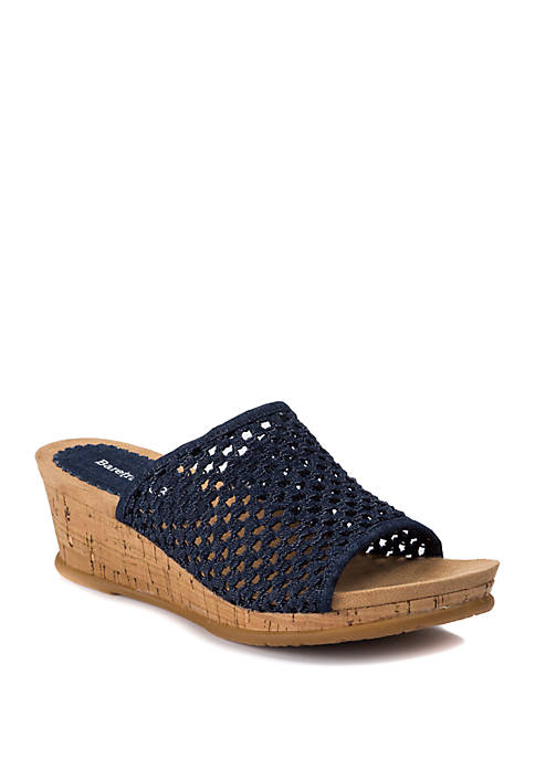 Flossey Wedge Sandals