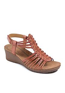 Trudy Wedge Sandal