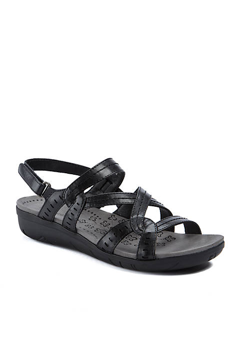 BareTraps Jacey Black Sandals