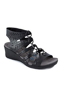 Tiffany Wedge Gladiator Sandals