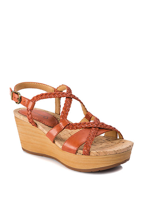 BareTraps Mairi Woven Wedge Sandals