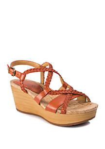 f88ec96e0c01fe ... BareTraps Mairi Woven Wedge Sandals