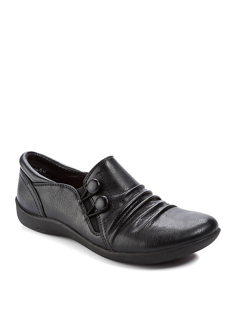 Naydia Black Shoes