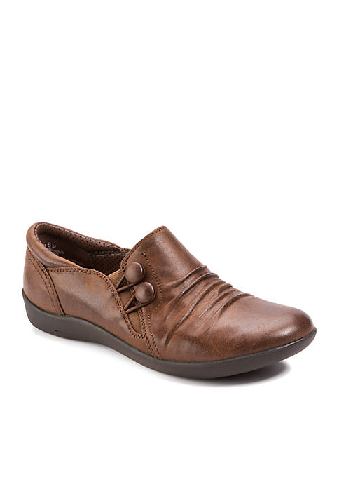 Naydia Brush Brown Shoes