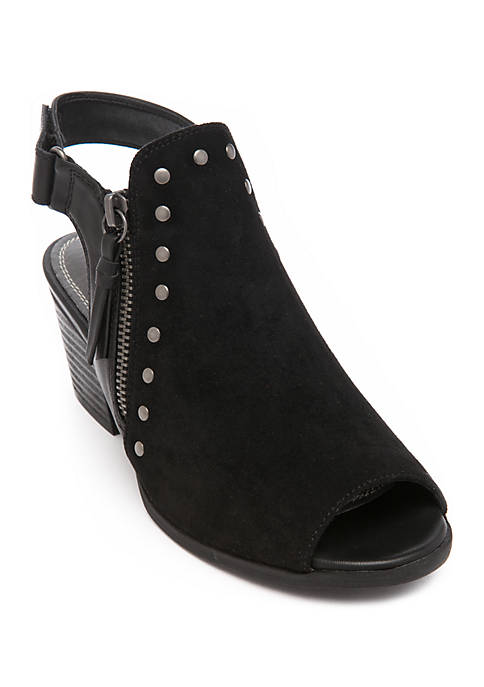 Ivella Open Toe Booties