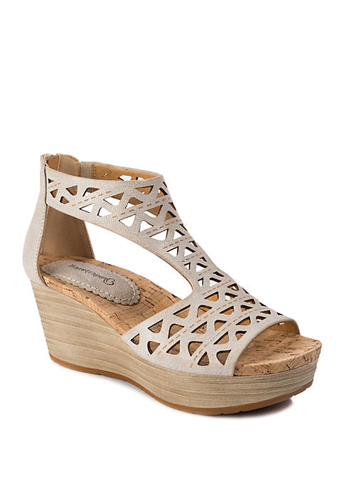 BareTraps Miriam Wedge Sandals