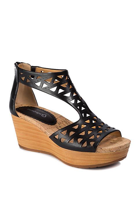 Miriam Wedge Sandals