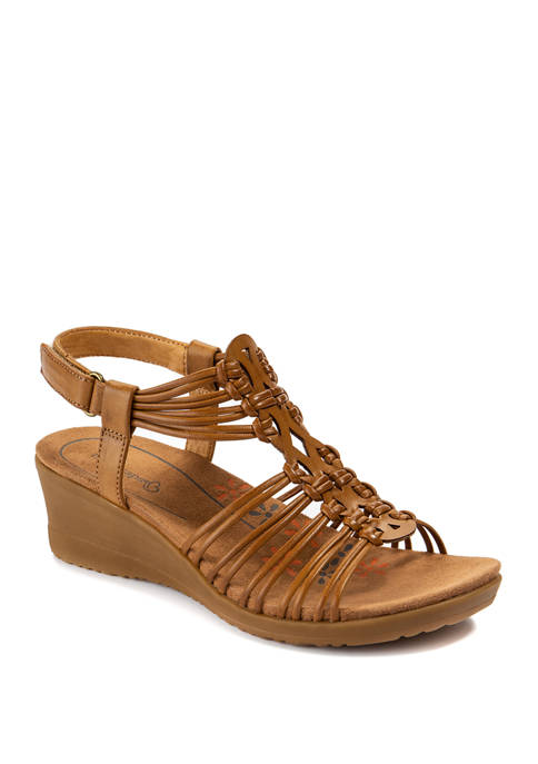 BareTraps Taren Gladiator Wedge Sandals