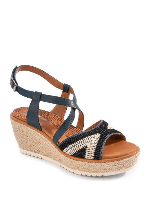 BareTraps Ethel Navy Sandals