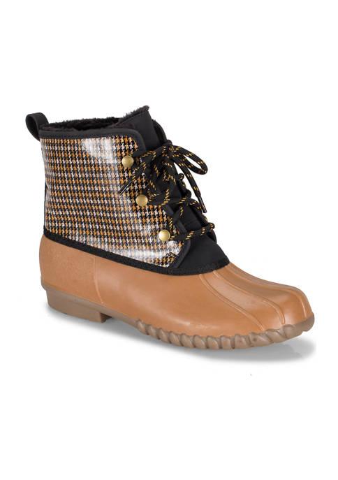 BareTraps Fernanda Water-Resistant Duck Boots
