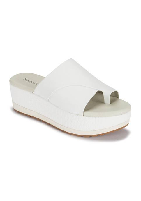 BareTraps Waverlie Wedge Slide Sandals