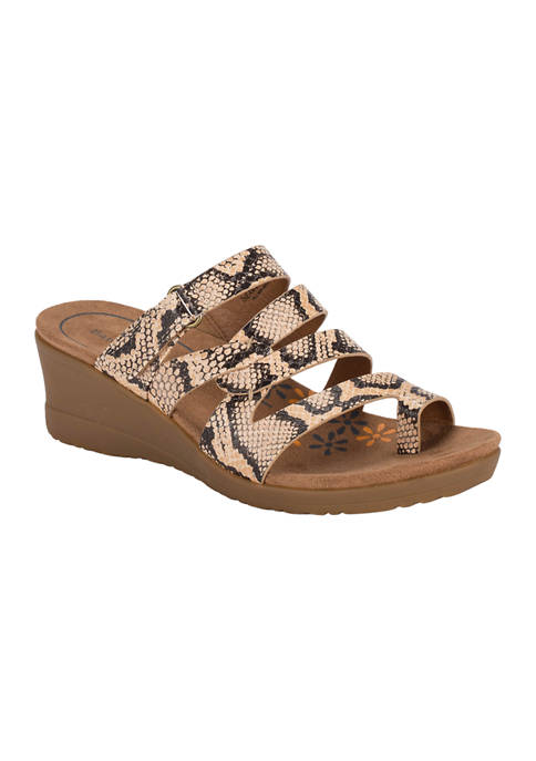 BareTraps Theanna Wedge Slide Sandals