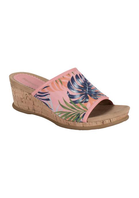 BareTraps Flossey Wedge Sandals