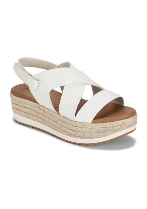 BareTraps Winta Wedge Slide Sandals