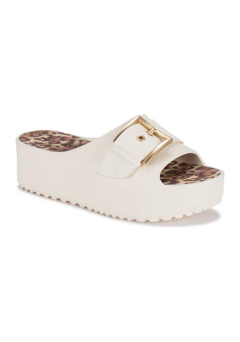 BareTraps Pacey Platform Slide Sandals