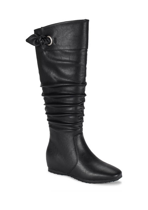 BareTraps Sable Tall Shaft Wedge Boots