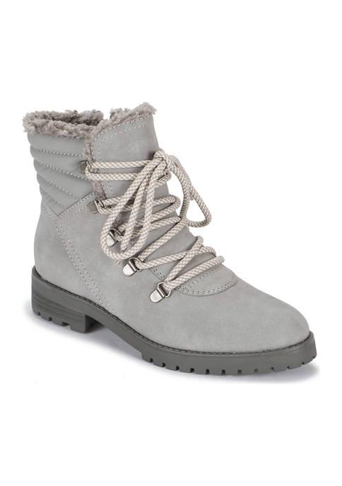 BareTraps Dennison Lug Sole Lace Up Boots