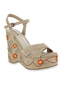 Willa Wedge Sandals