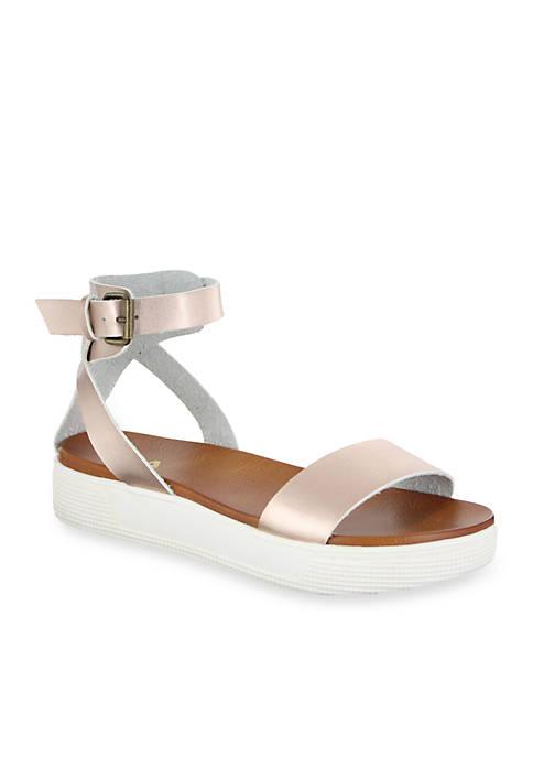 5085db355a6 MIA Ellen Platform Sandal