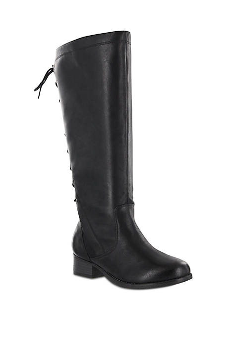Lilianna Lace Up Knee Boot